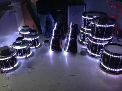 New Led Lighted Drums Melhart Music Center